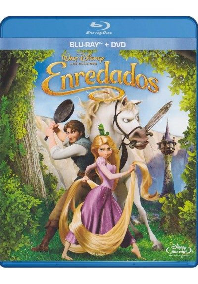 Enredados (Blu-Ray + Dvd) (Tangled)