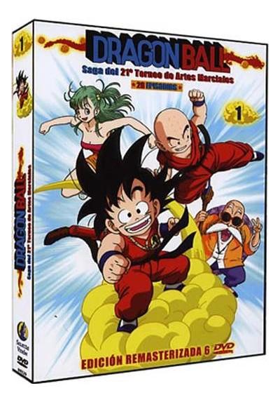 Pack Dragon Ball: La saga del 21º Torneo de Artes Marciales (Volumen 1)