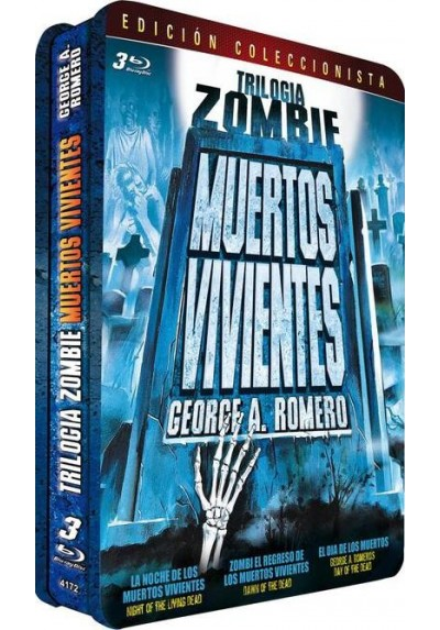 Trilogia Zombie - Muertos vivientes (Blu-Ray)