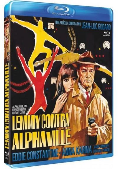 Lemmy Contra Alphaville (Blu-Ray) (Alphaville, Une Étrange Aventure De Lemmy Caution)