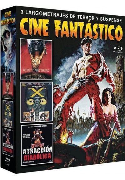 Pack Cine Fantastico (Blu-Ray)