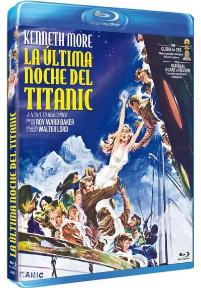 La Última Noche Del Titanic (Blu-Ray) (A Night To Remember)