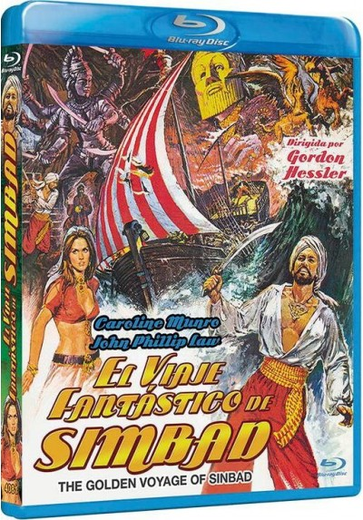El Viaje Fantastico De Simbad (Blu-Ray) (The Golden Voyage Of Sinbad)