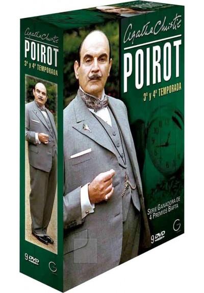 Poirot 3ª y 4ª Temporada - Agatha Chiristie