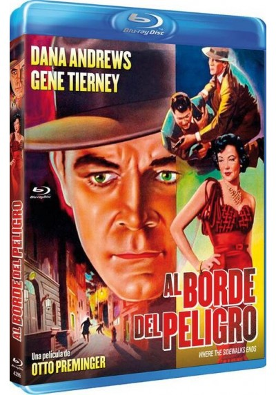 Al Borde Del Peligro (Blu-Ray) (Where The Sidewalk Ends)
