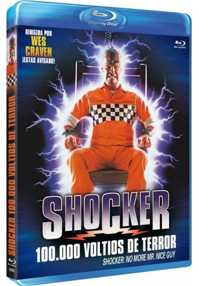 Shocker, 100.000 Voltios De Terror (Blu-Ray)