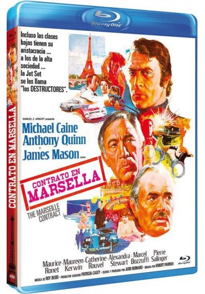 Contrato En Marsella (Blu-Ray) (The Marseille Contract)