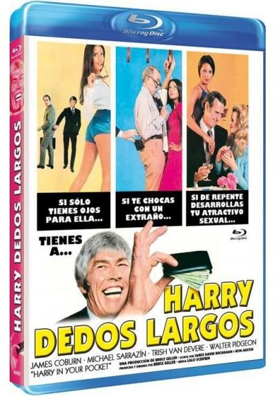 Harry Dedos Largos (Blu-Ray) (Harry In Your Pocket)