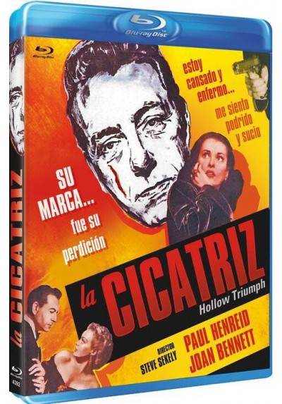 La Cicatriz (1948) (Blu-Ray) (Hollow Triumph)