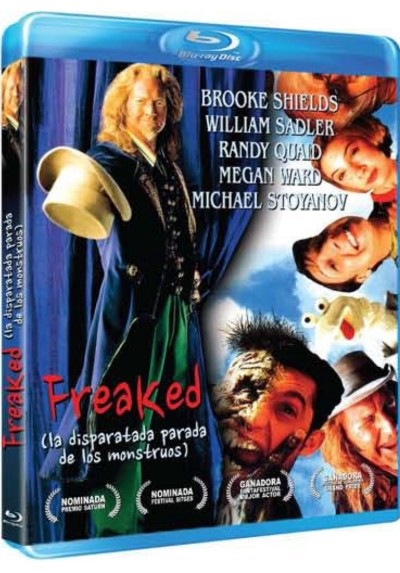Freaked: La disparatada parada de los monstruos (Blu-Ray)