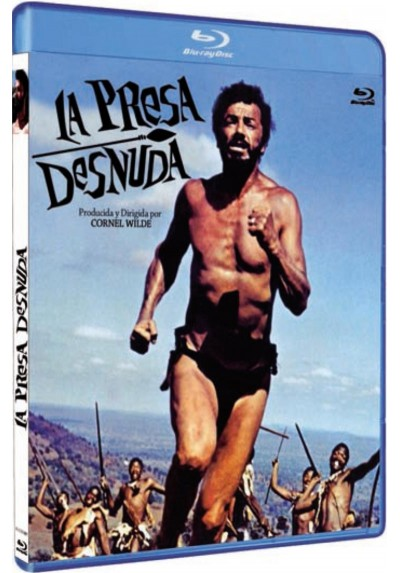 La presa desnuda (The Naked Prey) (Blu-Ray)