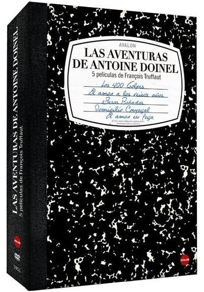 Pack Truffaut: Las Aventuras De Antoine Doinel