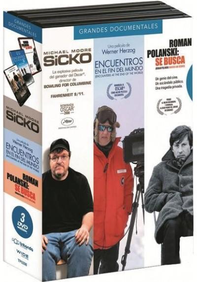 Pack Grandes Documentales : Sicko / Encuentros En El Fin Del Mundo / Roman Polanski: Se Busca