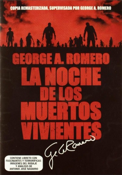 La Noche De Los Muertos Vivientes (1968) (Ed. Remasterizada) (Night Of The Living Dead) (Digipack)