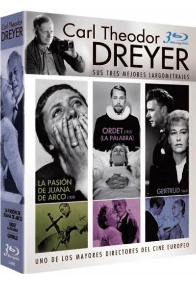 Pack Carl Theodor Dreyer (Blu-ray)