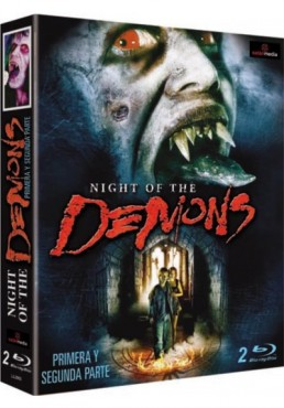 Pack Night of the Demons - Parte 1 y 2 (Night of the Demons) (Blu-ray)
