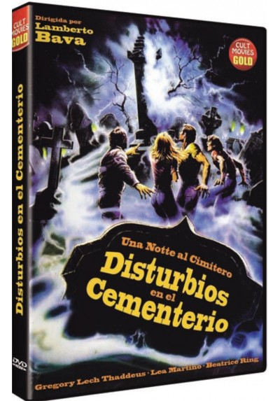 Disturbios en el Cementerio (Brivido Giallo: Una Notte al Cimitero)