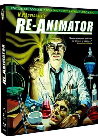 Re-Animator (Blu-Ray + Dvd + Libro + B.S.O.) (Ed. Coleccionista)