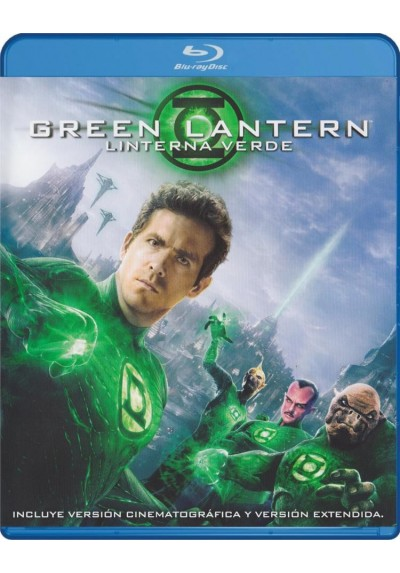 Green Lantern (Linterna Verde) (Version Extendida Y Cinematografica) (Blu-Ray)