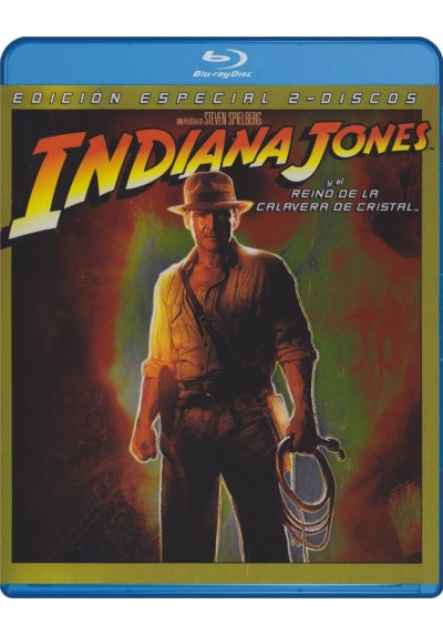 Indiana Jones Y El Reino De La Calavera De Cristal (Blu-Ray) (Ed.Especial) (Indiana Jones And The Kingdom Of The Crystal Skull)
