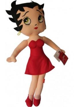 Betty Boop con Vestido Rojo - 70 cms.
