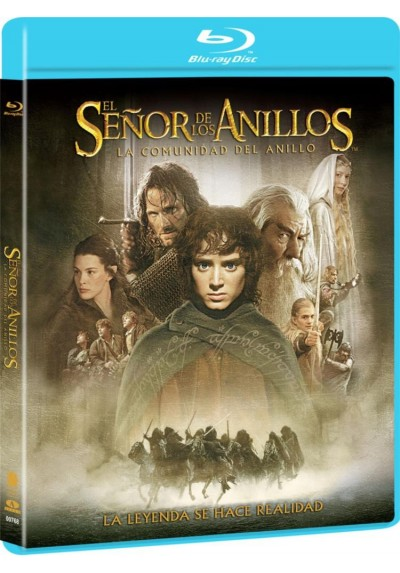 El Señor De Los Anillos : La Comunidad Del Anillo (Blu-Ray) (The Lord Of The Rings: The Fellowship Of The Ring)
