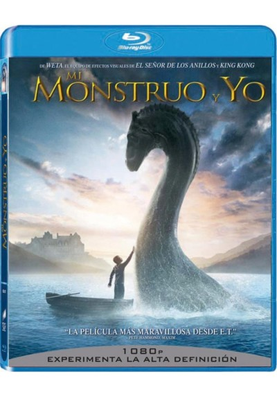 Mi Monstruo Y Yo (Blu-Ray) (The Water Horse : Legend Of The Deep)
