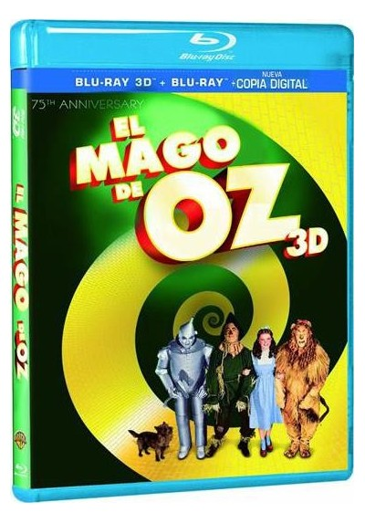 El Mago De Oz - Ed. 75º Aniversario (Blu-Ray 3d) (The Wizard Of Oz)