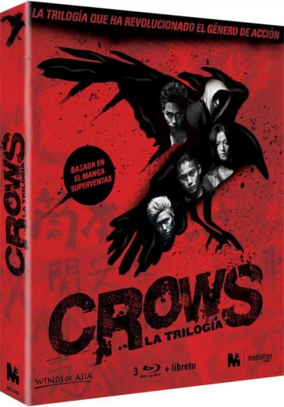 Crows : La Trilogia (Blu-Ray)