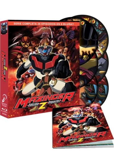 Mazinger Z : Ed. Impacto - Serie Completa (Blu-Ray + Libro)