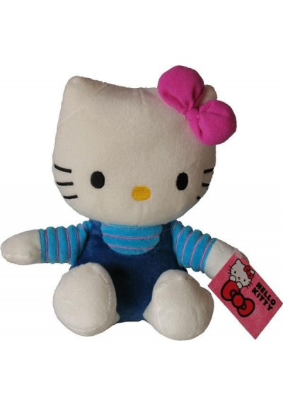 Hello Kitty Azul - 21 cms.