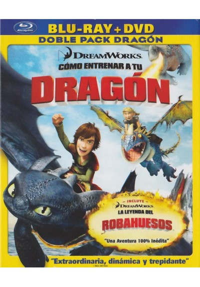 Como Entrenar A Tu Dragon (Blu-Ray + Dvd) (How To Train Your Dragon)