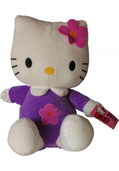 Hello Kitty Violeta - 21 cms.