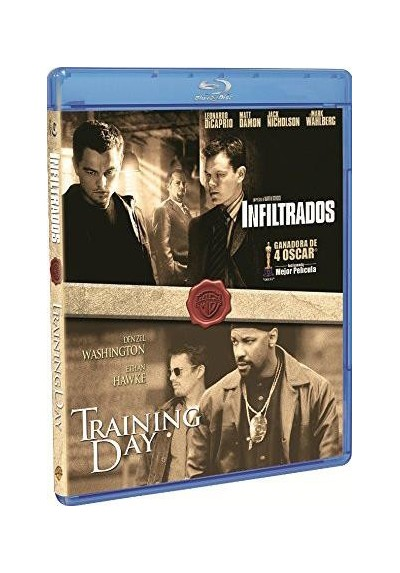 Pack Infiltrados / Training Day (Blu-Ray)