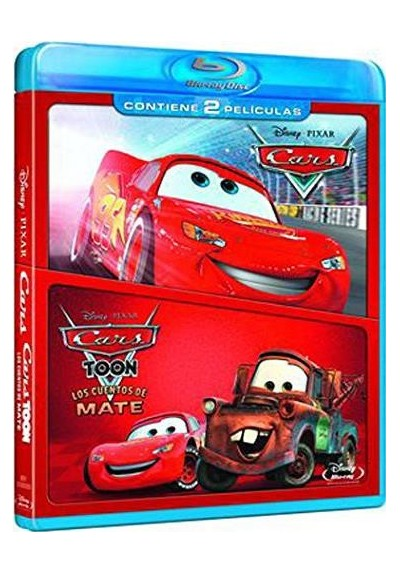 Pack Cars / Cars Toon (Blu-Ray)