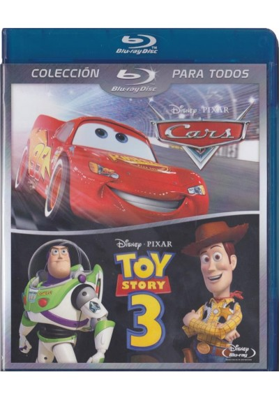 Pack Cars / Toy Story 3 (Blu-Ray)