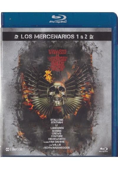 Pack Los Mercenarios 1 + 2 (Blu-Ray)