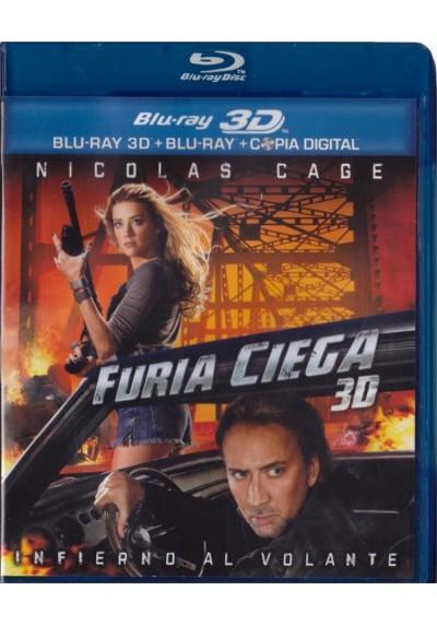 Furia Ciega (Blu-Ray 3d + Blu-Ray + Copia Digital) (Drive Angry)