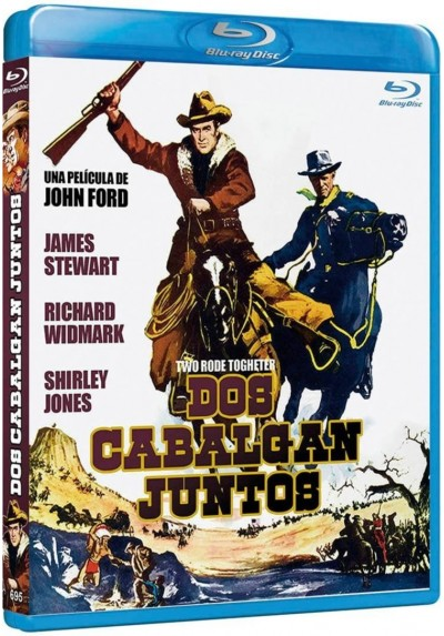 Dos Cabalgan Juntos (Blu-Ray) (Two Rode Together)