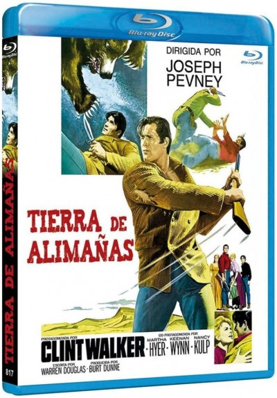 Tierra De Alimañas (Blu-Ray) (The Night Of The Grizzly)