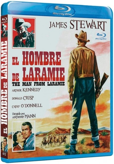 El Hombre De Laramie (Blu-Ray) (The Man From Laramie)