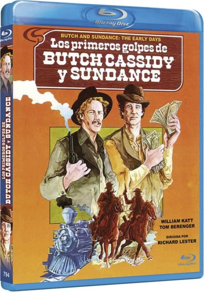 Los Primeros Golpes De Butch Cassidy Y Sundance (Blu-Ray) (Butch And Sundance: The Early Days)