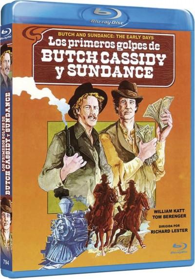 Los Primeros Golpes De Butch Cassidy Y Sundance (Blu-Ray) (Butch And Sundance: The Early Days)