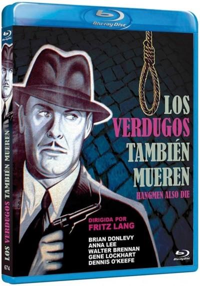 Los Verdugos Tambien Mueren (Blu-Ray) (Hangmen Also Die!)