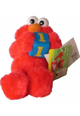 Elmo con Dado de Barrio Sesamo - 22 cms.