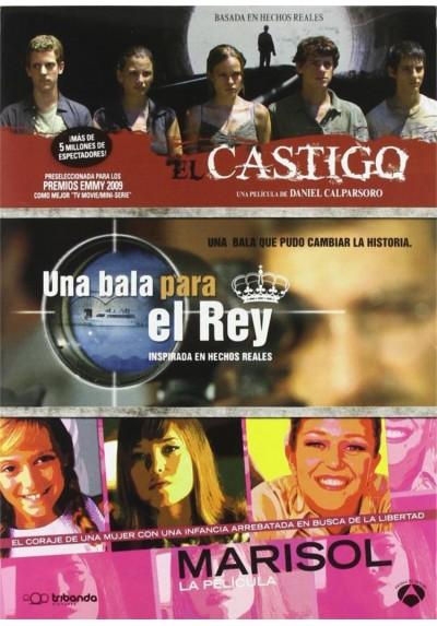 Pack El Castigo + Una Bala para el Rey + Marisol, La Película