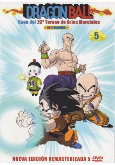 Dragon Ball : Saga Del 22º Torneo De Artes Marciales - Box 5