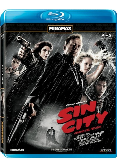 Sin City (Ciudad Del Pecado) (Blu-Ray)