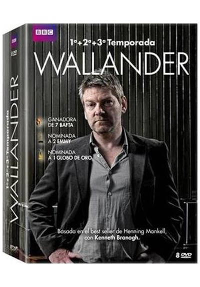 Pack Wallander - Temporadas 1, 2 Y 3