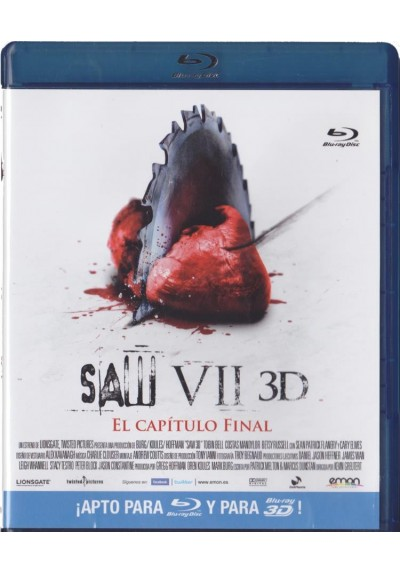 Saw VII : El Capitulo Final (Blu-Ray 3D) (Saw VII: The Final Chapter)